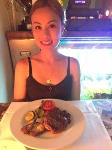 Me in Barcelona with Lean Steak
